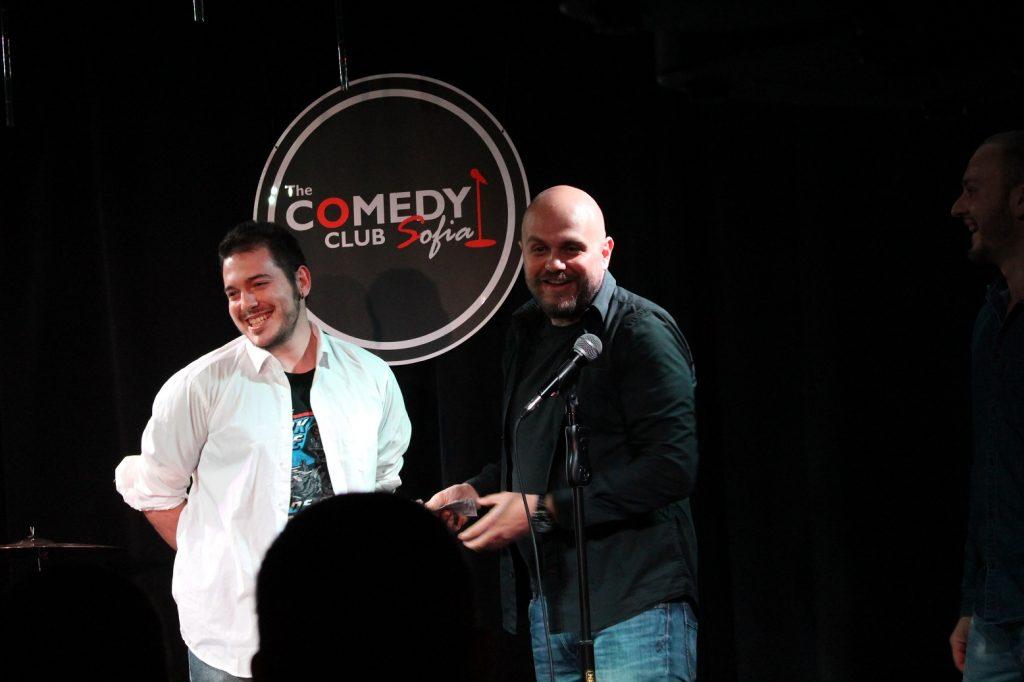 Николаос Цитиридис stand-up comedy Open Mic за първи път